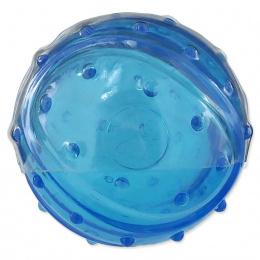 Dog Fantasy Strong loptička s vôňou slaniny modrá 7cm