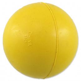 Dog Fantasy loptička tvrdá žltá 5cm