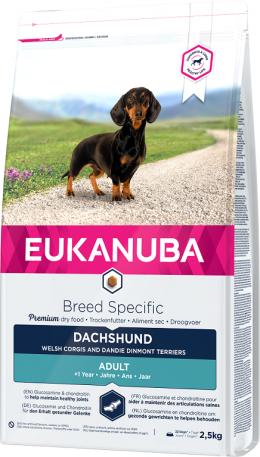 Eukanuba Dachshund Jezvečik 2,5kg