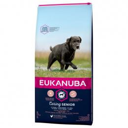 EUKANUBA granuly Senior Large 15kg