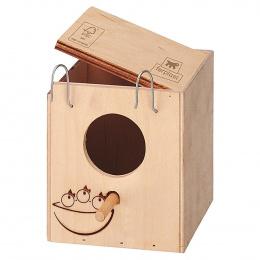 Ferplast búdka hniezdna drevená NIDO ZG 1 mini