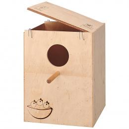 Ferplast búdka hniezdna drevená NIDO ZG 9 XL