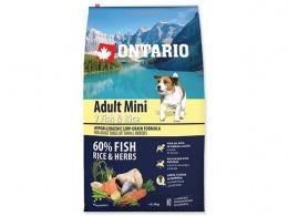 Ontario Adult Mini Fish a Rice 6,5kg