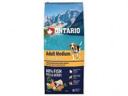 Ontario Adult Medium Fish a Rice 12kg