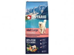 Ontario Adult Large Fish a Rice 12kg