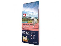 Ontario granuly Weight Control Large  morka a zemiaky 12 kg