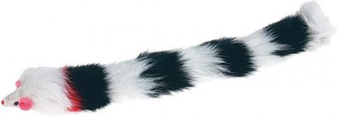 Hračka FLAMINGO myš dlouhá plyšová
