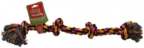 Uzel bavlněný barevný 60cm, 4 knoty