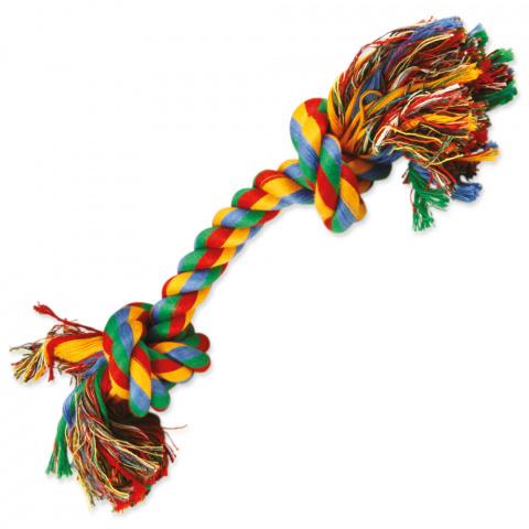 Uzel DOG FANTASY bavlněný barevný 2 knoty 30 cm