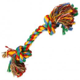 Uzel Dog Fantasy bavlněný barevný 2 knoty 30cm