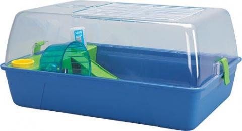 Box SAVIC Rody Hamster modrý 55x39x26cm
