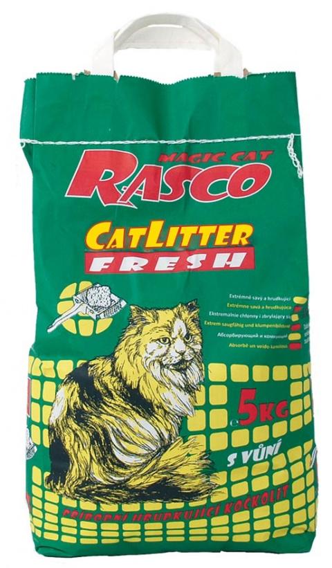 Kočkolit RASCO Litter Fresh 5kg