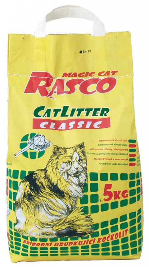 Kočkolit RASCO Litter Classic 5kg