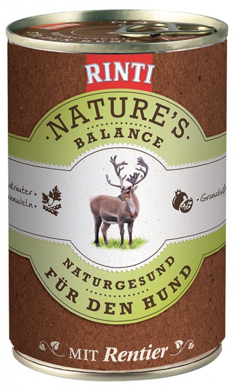 Konzerva RINTI Nature's Balance sob + těstoviny + vejce 400g