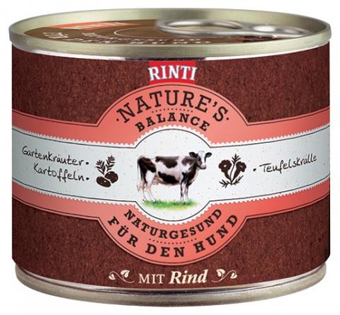 Konzerva RINTI Nature's Balance hovězí + brambory + vejce 185g