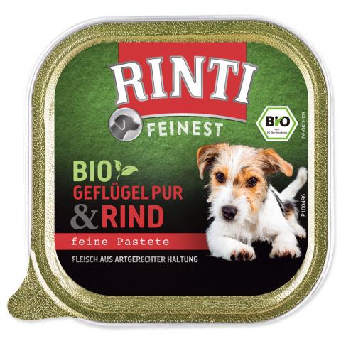 Vanička RINTI Bio hovězí 150g title=