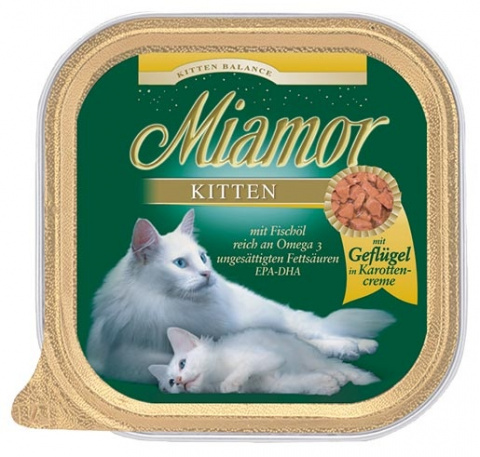 Vanička Miamor Kitten Balance drůbež