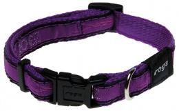 Obojek ROGZ Fancy Dress JellyBean Purple Chrome S