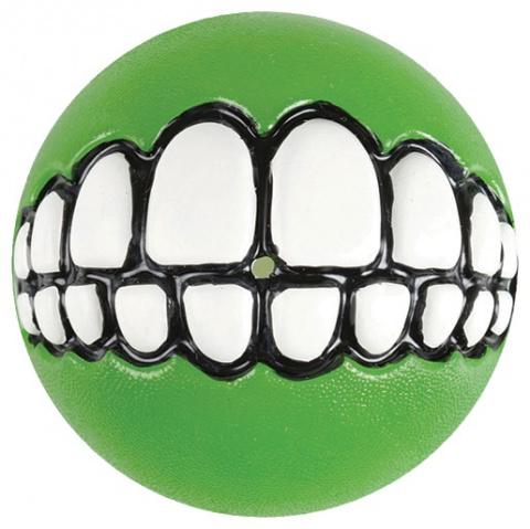 Hračka Rogz míček Grinz zelený M