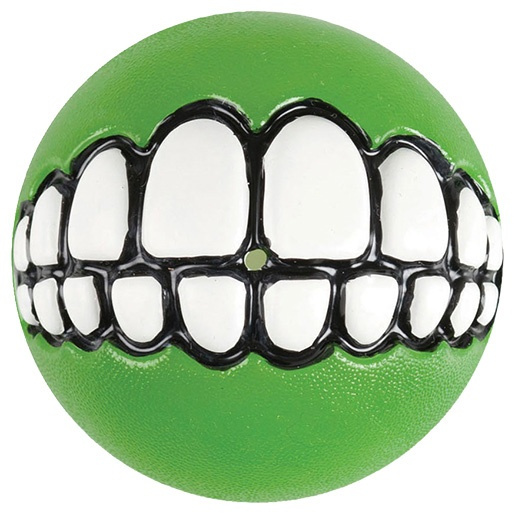 Hračka Rogz míček Grinz zelený S