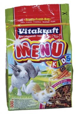 Menu VITAKRAFT junior Rabbit bag 500g