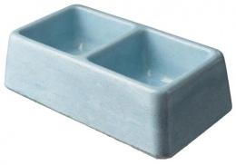 Dvojmiska BE-MI betonová 2x0,3l