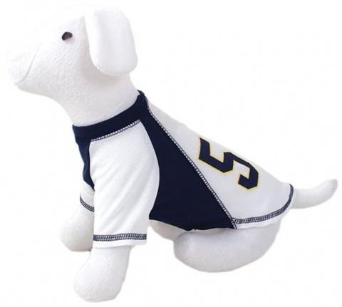 Triko DOG FANTASY sport 57 bílo-modré S