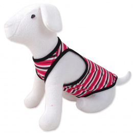 Šaty DOG FANTASY summer proužkované S/M