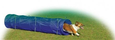 Tunel DOG FANTASY Agility modrý