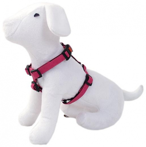 Postroj DOG FANTASY Classic růžový 45 - 70 cm