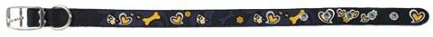 Obojek Dog Fantasy Star tmavě modrý 42cm