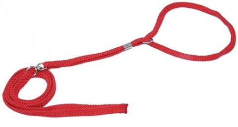 Vodítko DOG FANTASY Show červené 120 x 0,5cm