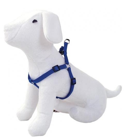 Postroj DOG FANTASY modrý  60 - 90 cm