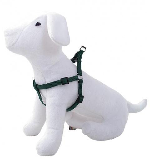 Postroj DOG FANTASY zelený 25 - 45 cm