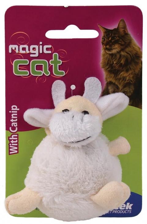 Hračka Magic Cat Plush Catnip Kravička