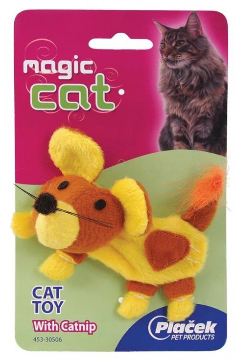 Hračka Magic Cat Plush Catnip Myš 14 cm