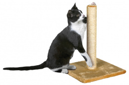 Škrabadlo Magic Cat Nora béžové 39cm