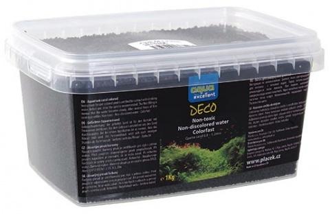 Písek AQUA EXCELLENT černý 1kg