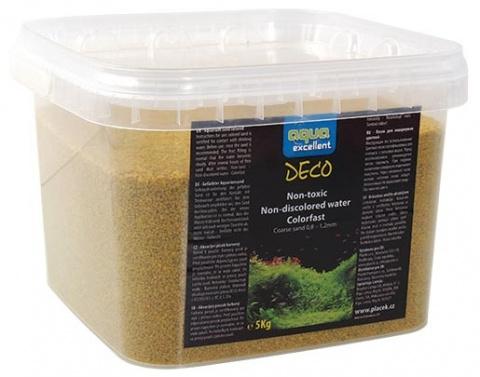 Písek AQUA EXCELLENT žlutý vanilkový 5kg title=