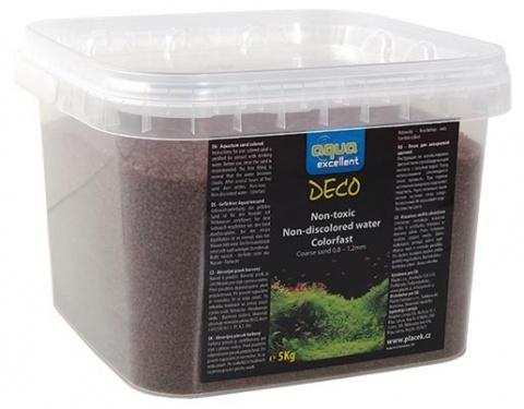 Písek AQUA EXCELLENT hnědý cappuccino 5kg