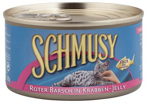 Konzerva SCHMUSY Fish okoun červený v želé 185g