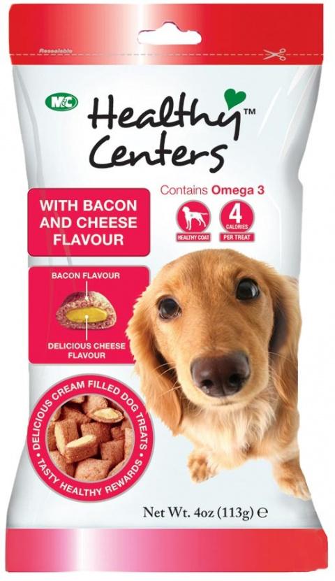 Pochoutka HEALTHY CENTERS slanina a sýr 113g