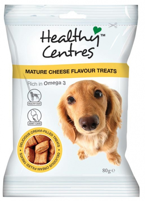 Pochoutka HEALTHY CENTRES zralý sýr 80g