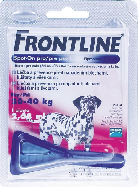 Spot on Frontline velký