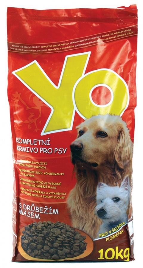Krmivo YO s drůbežím masem 10kg