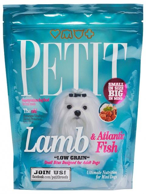 PETIT Dry Adult Lamb & Atlantic Fish Low Grain 300g