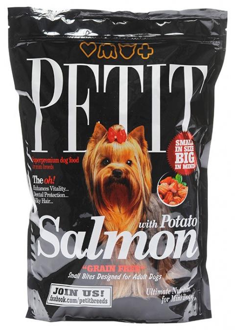 PETIT Dry Adult Salmon with Potato Grain Free 1.5kg