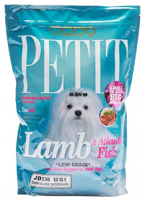 PETIT Dry Adult Lamb & Atlantic Fish Low Grain 1.5kg