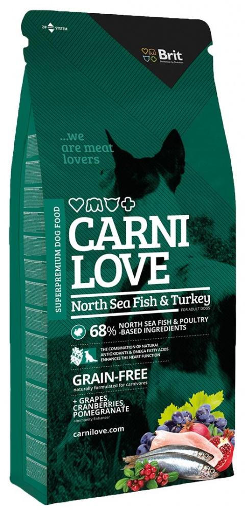 CARNILOVE North Sea Fish and Turkey 12kg