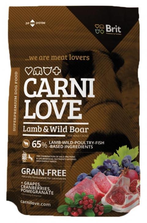 CARNILOVE Lamb and Wild Boar 1,5kg